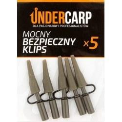 Undercarp Mocny bezpieczny klips zielony