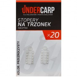 Undercarp Stopery na trzonek haczyka-przezroczysty