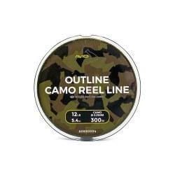 Avid Carp Outline Camo Reel Line 0,31mm/12lb 300m