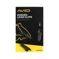 Avid Carp Ringed Lead Clips