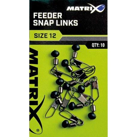 Matrix Feeder Bead Snap Links Size 12