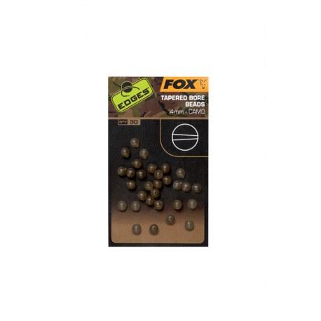 Fox Camo Tapered Bore Beads 4mm 30szt